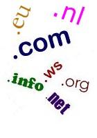 Overzicht domeinnaam extensies / TLDs